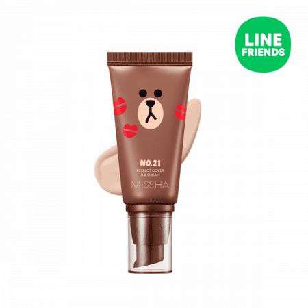 MISSHA M Perfect Cover BB Cream (LINE Friends