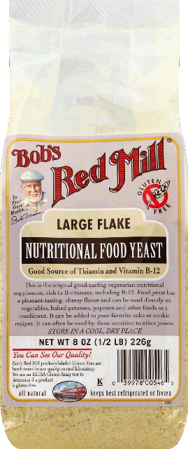 Bobs Red Mill Large Flake Food Yeast, 8 Oz by Bob'S Red Mill
