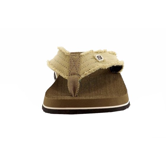 4a6aa8b24104 Skechers - Skechers Men s Tantric Fray Fashion Brown Flip Flop ...