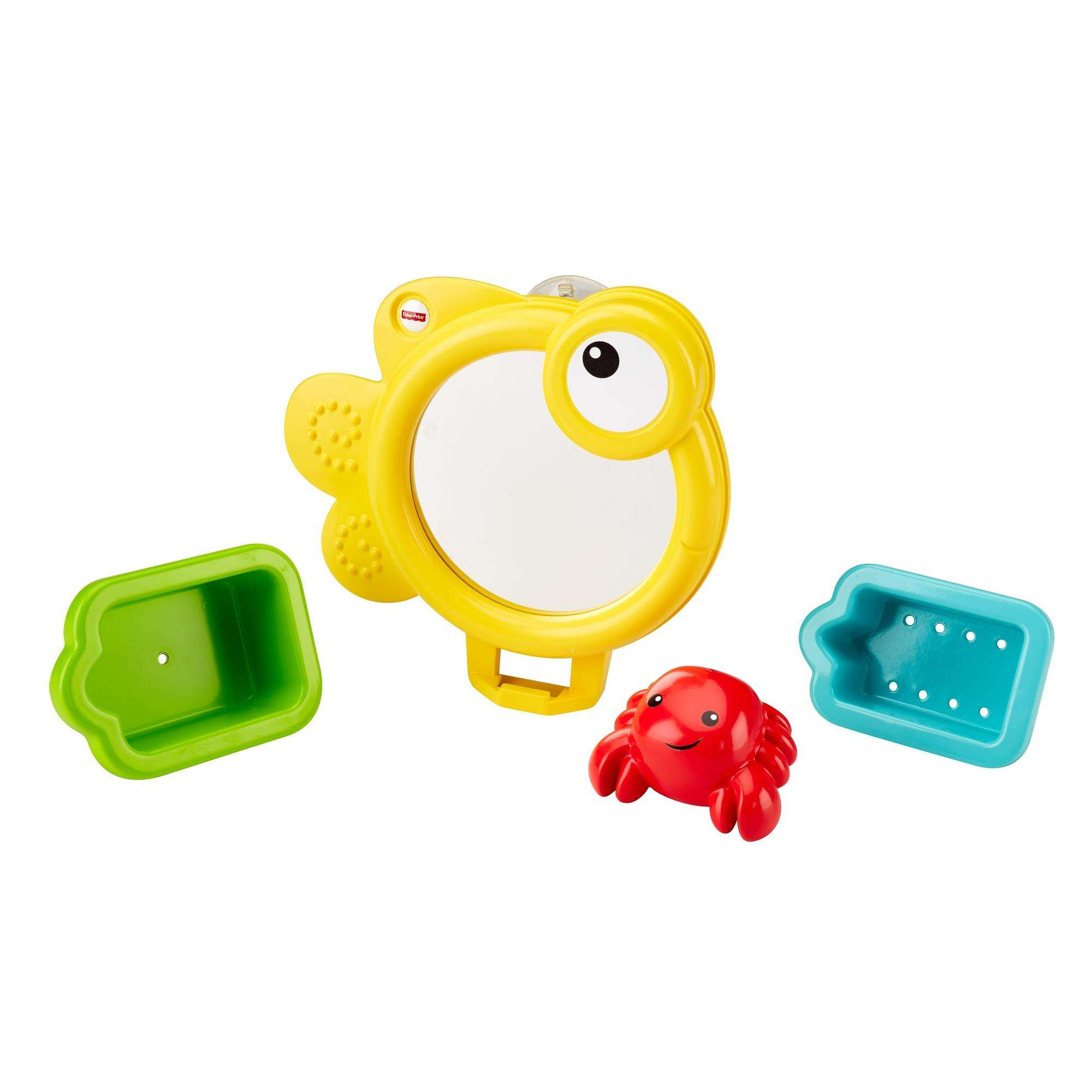 Fisher Price Scoop & Nest Bath Mirror by Fisher-Price