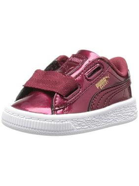 PUMA Suede Heart Valentine Jr Sneakers in Pearl Pearl (Pink