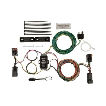 hopkins manufacturing plug-in simple towed vehicle wiring kit 56203 -  walmart com