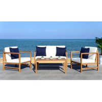 Safavieh Montez 4 Piece Outdoor Set with Accent Pillows