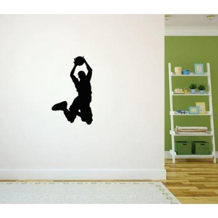 Do It Yourself Wall Decal Sticker Basketball Player Sports Boy Girl B