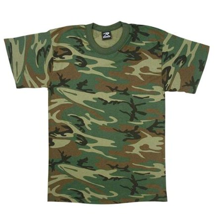 Boys Woodland Camo T-Shirt Infant Woodland Camouflage T-shirt