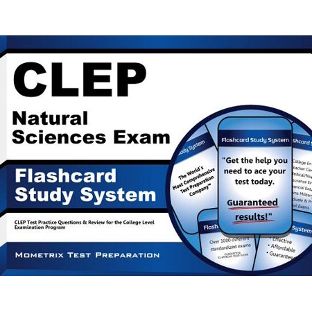 Clep Natural Sciences Exam Flashcard Study System: Clep Test Practice Questions & Review for the College Level Examination