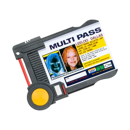 Leeloo Dallas Multi Pass Prop Replica ID Badge Holder from The Fifth Element - Leeloo Costume Fifth Element