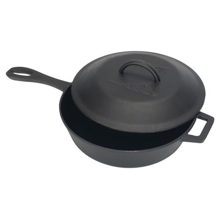 Bayou Classics Cast Iron Covered Skillet