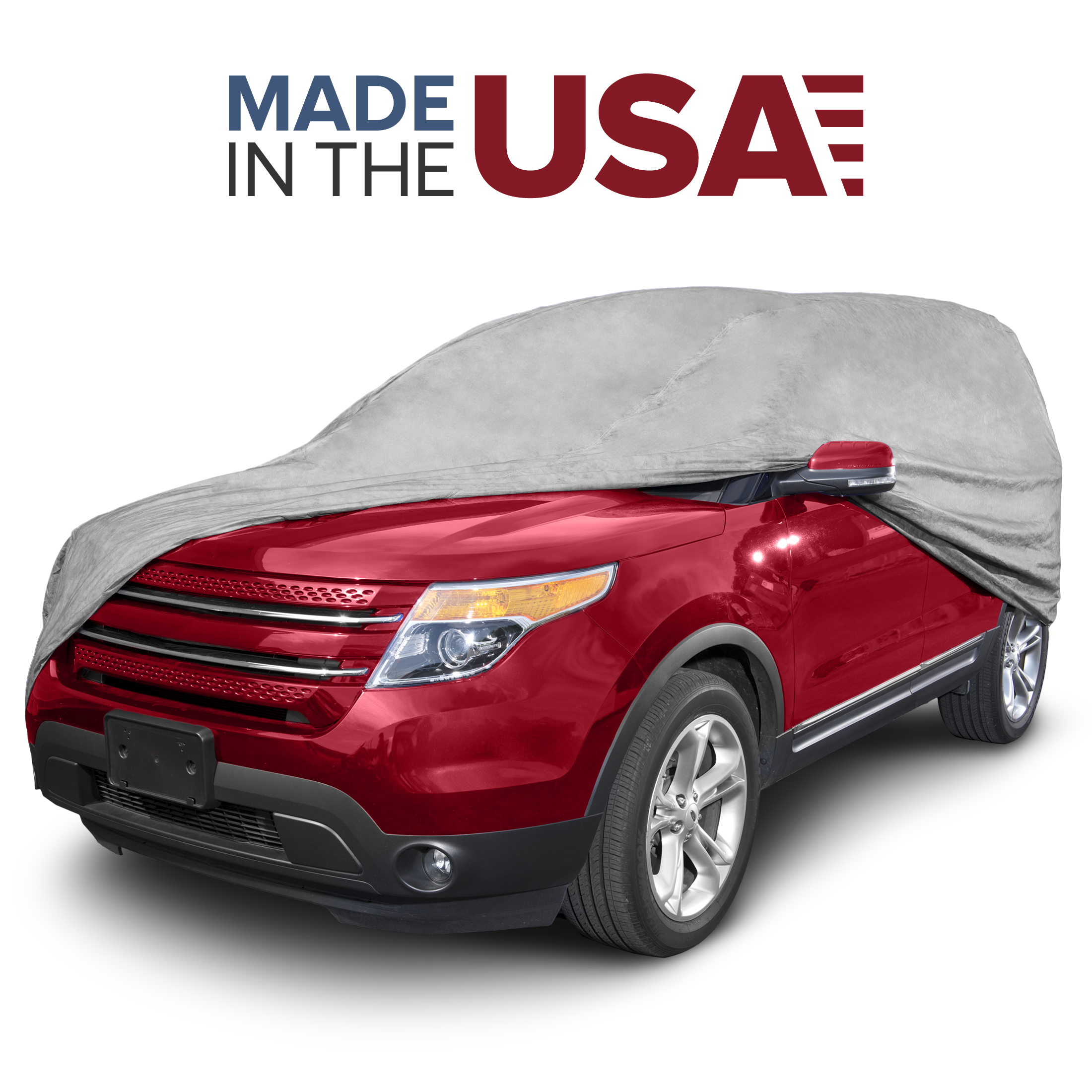 Budge Max SUV Car Cover, Maximum Outdoor Vehicle Protection, Semi-Custom Fit