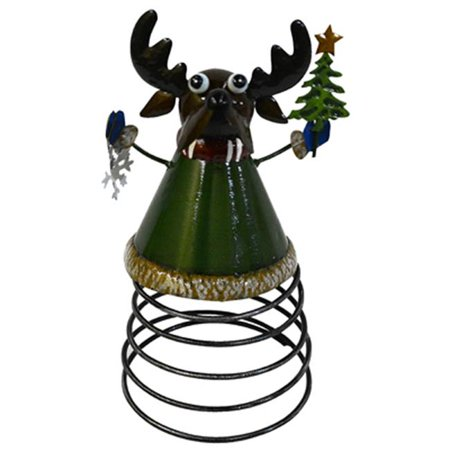 - 4 Seasons Global JF142583 Reindeer Spring Tabletop Decoration