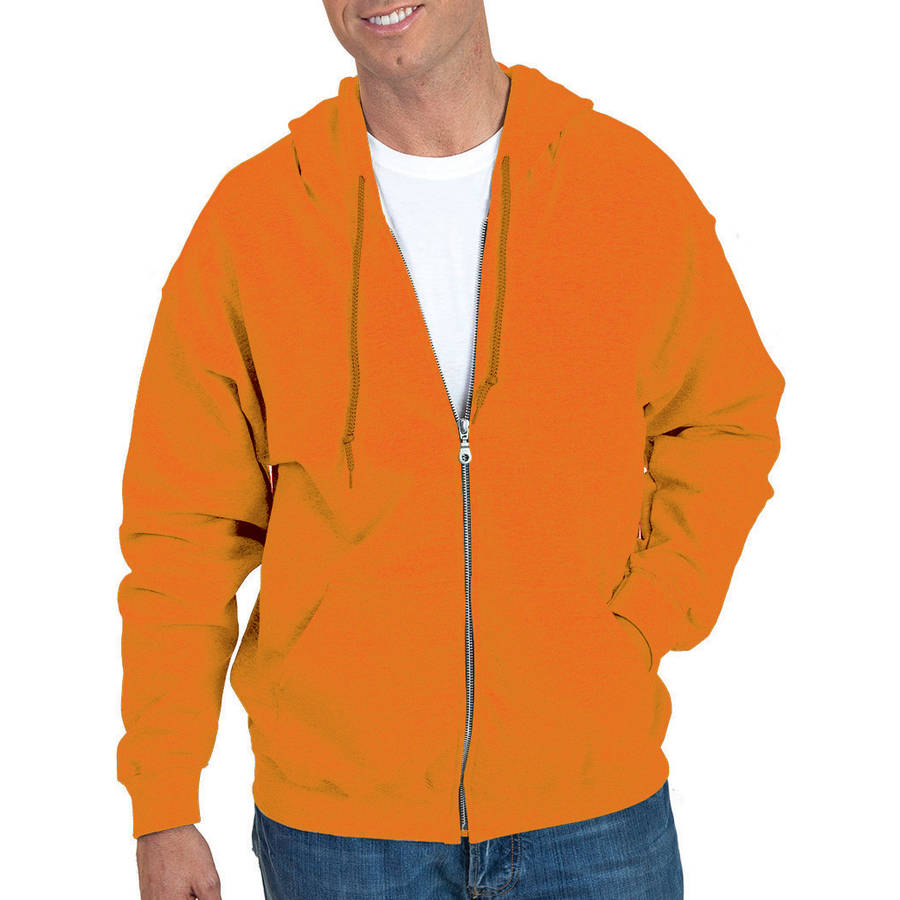 Gildan Men's Full Zip Hooded Sweatshirt - Walmart.com