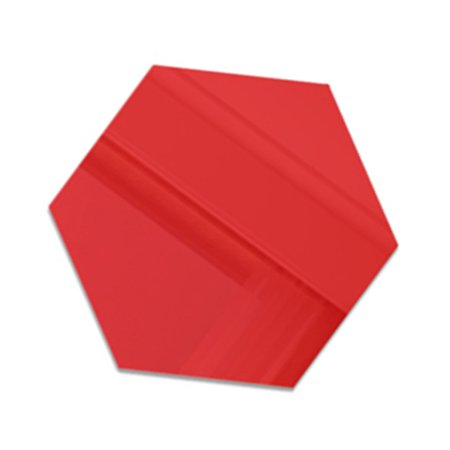 3D Hexagon Acrylic Mirror Wall Stickers DIY Art Wall Decor Stickers Home Decor - image 3 of 7