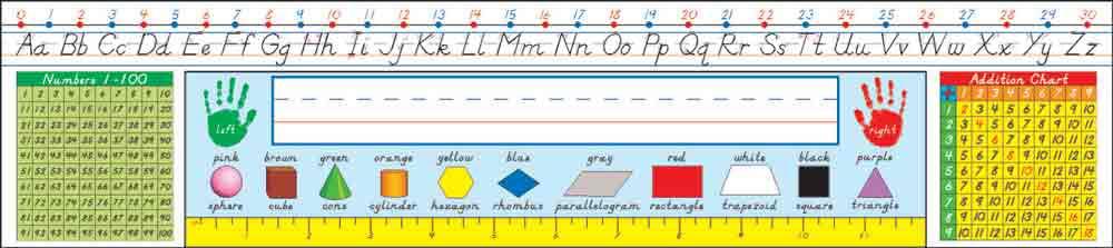 Modern Manuscript: Grades 1-3 Nameplates by Carson-Dellosa