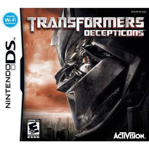 Transformers-Decepticons (DS) - Pre-Owned