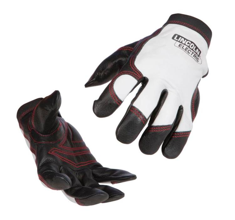 Lincoln Electric K2977 Top Grain Cowhide Pigskin Steel Worker Gloves, Medium by Lincoln Electric