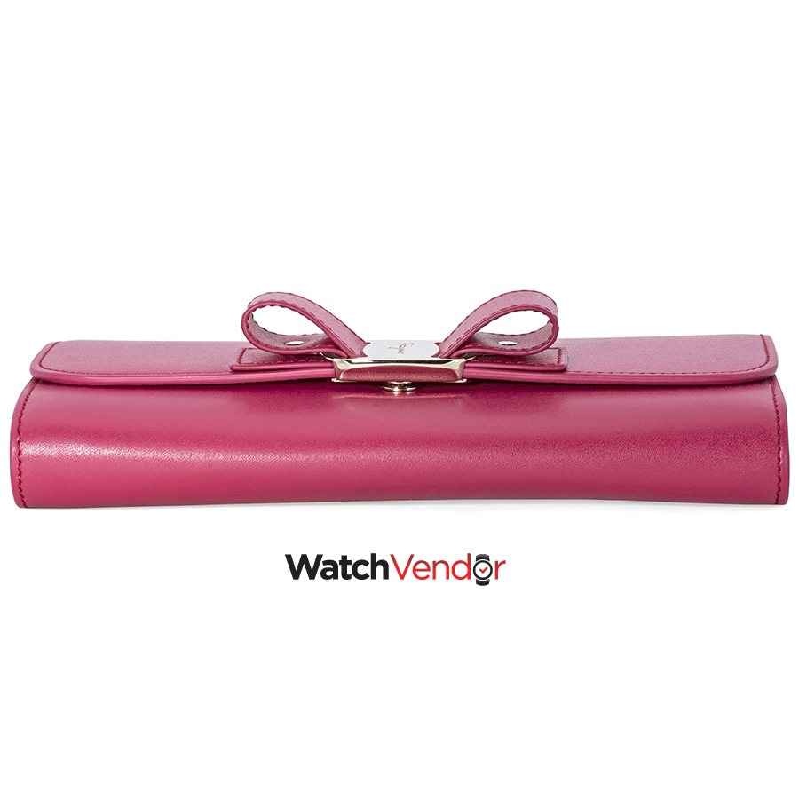 Ferragamo Vara Bow Mini Leather Bag- Begonia - image 1 de 5