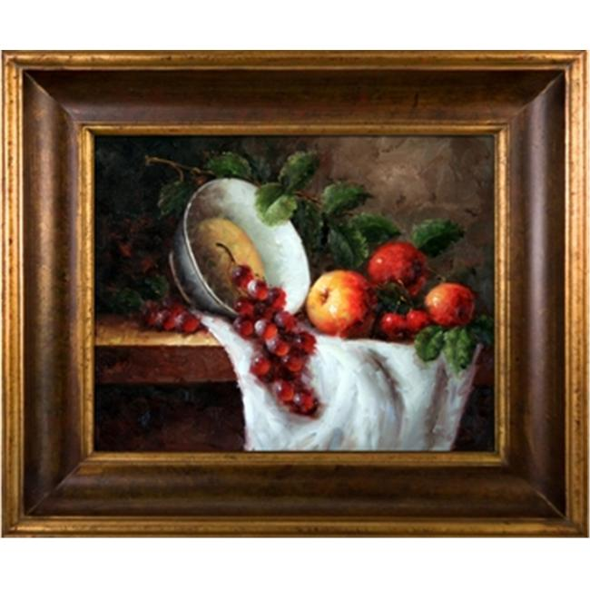 Artmasters Collection PA90159-40G Fruit Still Life II Framed Oil Painting