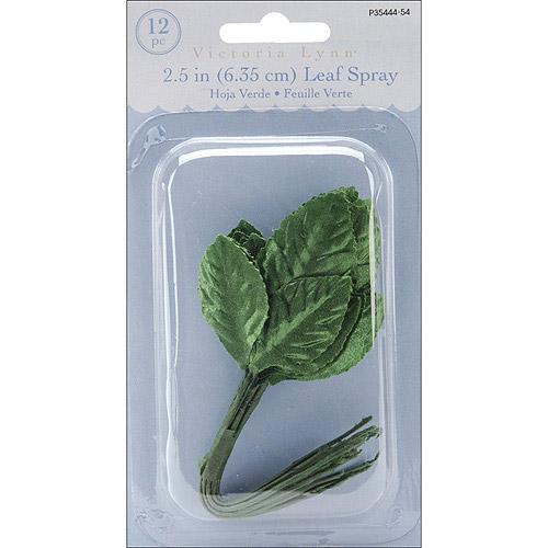 """Triple Leaf, 2.5"""", 12-Pack, Green"""