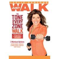 Leslie Sansone: The Tone Every Zone Walk (DVD)