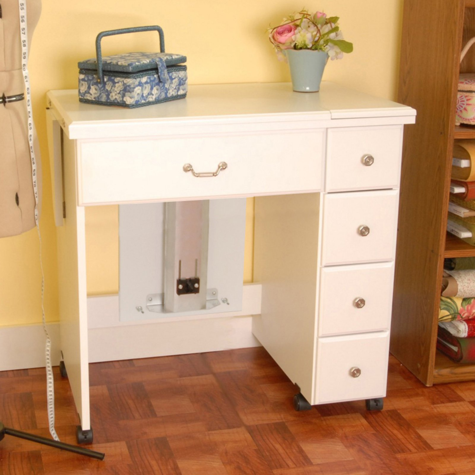 Arrow Auntie Em Sewing Cabinet with Air lift mechanism - Walmart.com