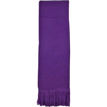 Winter Warm Classic Tassel Knitted Solid Women Men Long Scarf Scarves -