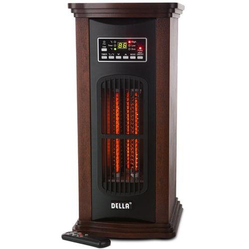 Della 1500 Watt Portable Electric Infrared Tower Space