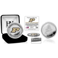 Purdue Boilermakers Highland Mint Team Color Silver Coin - No Size