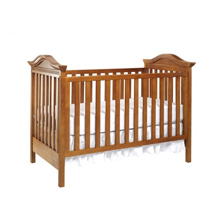 Babi Italia Pinehurst Fixed Side Crib Tea Stain