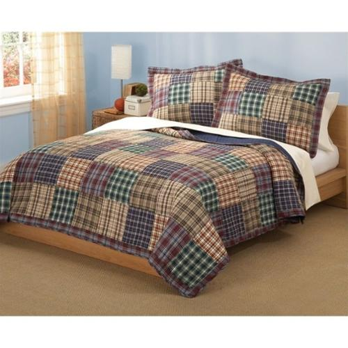 PEM America Bradley 3 Piece Full Queen Quilt Set
