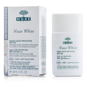 Nuxe White Daily UV Protector SPF 30 (For All Skin Types & Sensitive Skin)-30ml|1oz