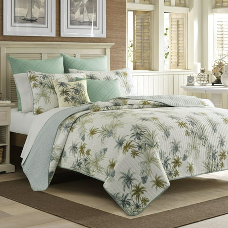 Tommy Bahama  Serenity Palms Quilt (Tommy Bahama Twin Quilt Set)