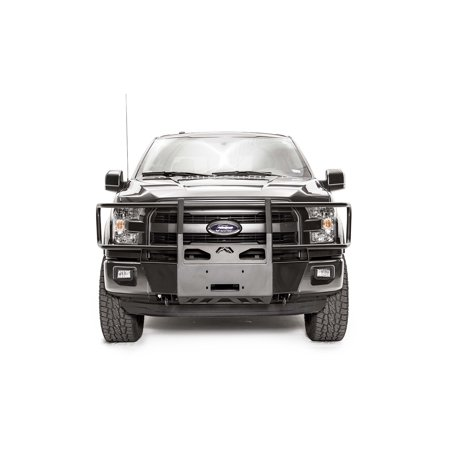Fab Fours FF15-N3270-1 Winch Mount  Fixed Front Bumper Mount; Black; Steel; Accommodates Up To 12,000 Pound Small Frame Winch - image 2 de 2