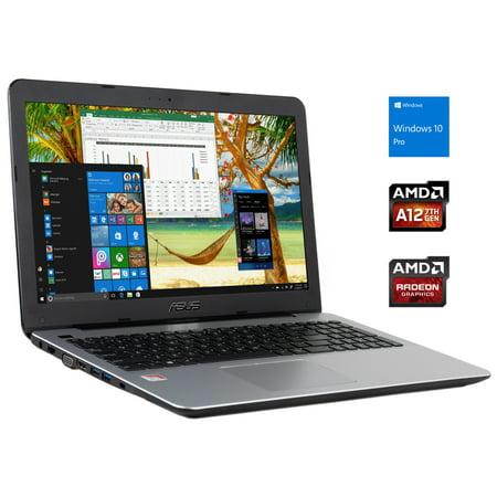 "Asus X555QA 14"" HD Notebook, AMD Quad-Core A12-9720P Upto 3.6GHz, 20GB RAM, 1TB SSD, VGA, HDMI, Card Reader, Wi-Fi, Bluetooth, Windows 10 Pro"