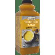 Numi Organic Tea, Turmeric Chai Golden Latte Concentrate, Bottles, 32 Oz.