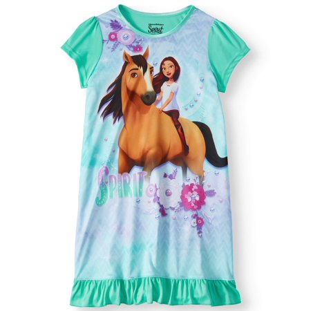 Spirit Girls' Pajama Nightgown (Kids Robe)