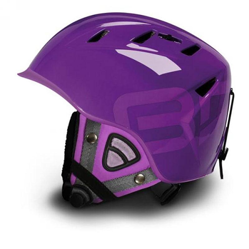 10.0 Contest Ski Helmet -Park & Pipe Purple SIze: Large 59-60CM by SOGEN SPORTS INC.