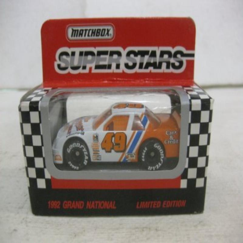 Super Stars #49 Ferree Chevrolet Racing Nascar In White & Orange Diecast 1:64 Scale By... by