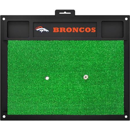 Fanmats Denver Broncos Golf Hitting Mat (Green)