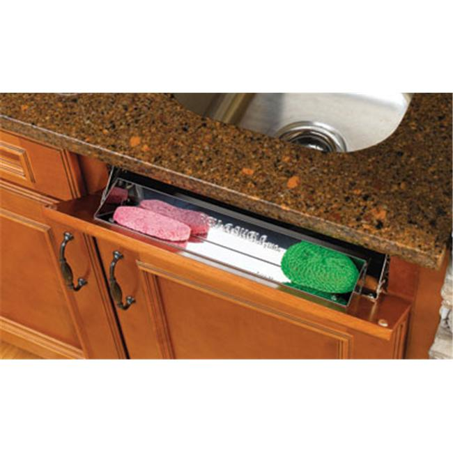 Rev-A-Shelf RS6542.97.15.4 Polymer Slim Tip Out Tray End Caps and Hinges-Almond