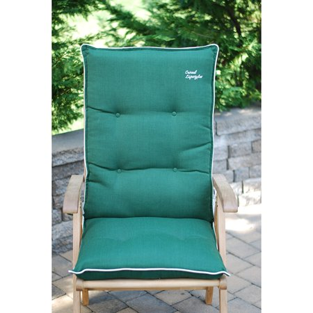 Casual Lifestyle High Back Patio Chair Cushion Set Of 2