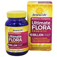 Renew Life - Ultimate Flora Women's Complete Probiotic 90 Billion - 60 Capsules
