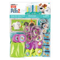 Secret Life Of Pets 2 Mga Fvr Value Pack - Party Supplies - 48 Pieces