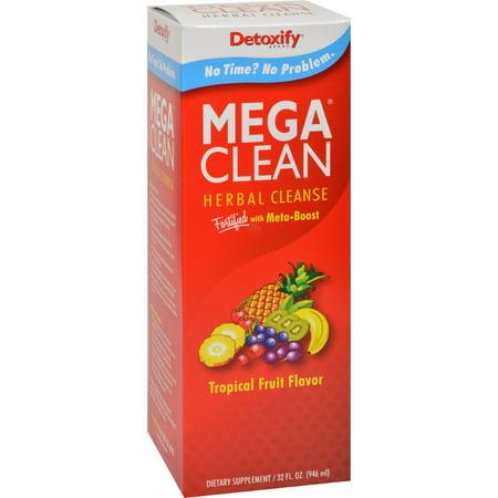 Detoxify Mega Clean   Tropical   32 Oz