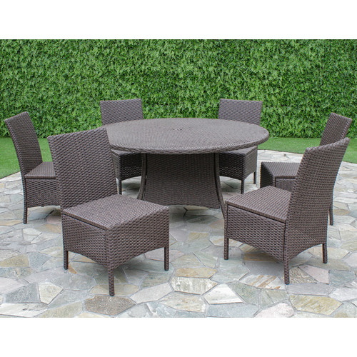 Creative Living Bali 7 Piece Dining Set
