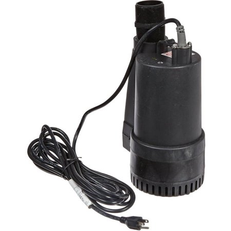 Multiquip Ss233 Electric Submersible Centrifugal Pump With Single Phase Motor  1 2 Hp  60 Gpm  2  Suction And Discharge