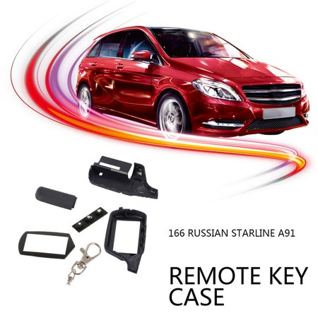 For Starline A91 Key Shell Keychain Case For Russian Version Starline A91 Lcd Remote Two Way Car Alarm System - image 2 de 5