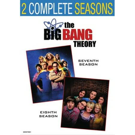 The Big Bang Theory: Seasons 7 & 8 (DVD)