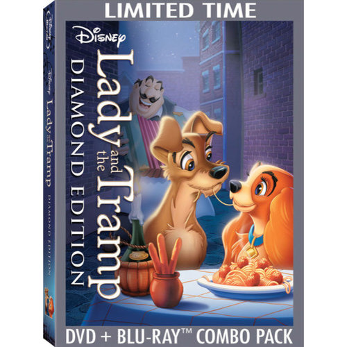 Lady And The Tramp (Diamond Edition) (DVD + Blu-ray) (Widescreen)