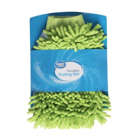 great value microfiber dusting mitt walmart com