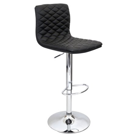 Bongo Lamp Stool - LumiSource Caviar Adjustable Height Barstool